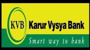 Karur Vysya Bank Recruitment